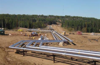PCL pipelines being constructed with the help of Superior Propane.