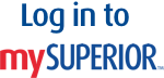 Click to log into mySuperior.
