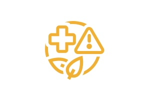 Health, Safety, and Environment icon