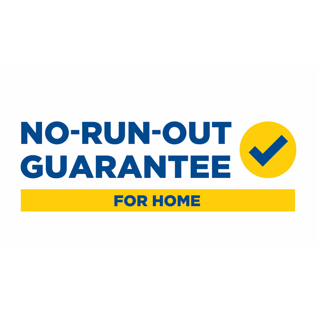 Superior Propane No Run Out Guarantee For Home Logo.
